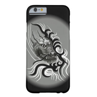 Coque iPhone 6 Barely There Dragon de la Chine dans Tattoostyle