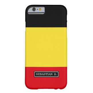 Coque iPhone 6 Barely There Drapeau de la Belgique