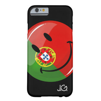 Coque iPhone 6 Barely There Drapeau portugais de sourire