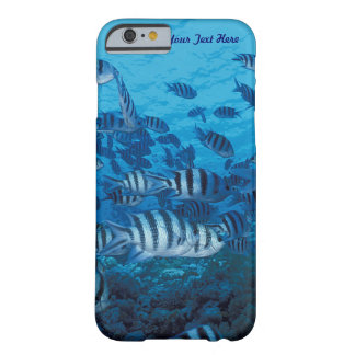 Coque iPhone 6 Barely There École des poissons rayés - Coque-Compagnon