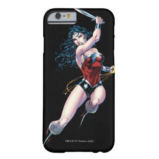 Coque iPhone 6 Barely There Épée de oscillation de femme de merveille
