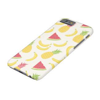 Coque iPhone 6 Barely There Été fruité - cas de dispositif de LazyGuysStyle