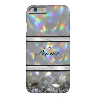Coque iPhone 6 Barely There Étincelle de luxe personnalisée