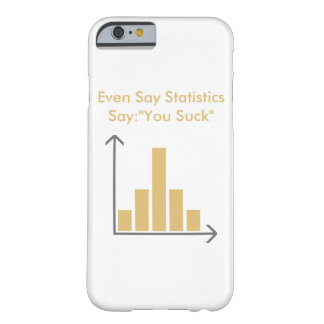 """Coque iPhone 6 Barely There Even d'IC de figurant say «You Suck """""""