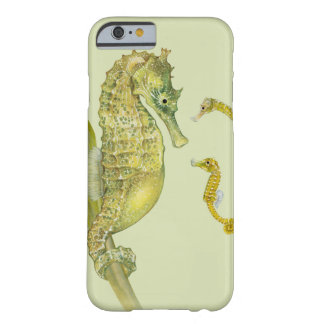 Coque iPhone 6 Barely There Famille Pacifique d'hippocampe