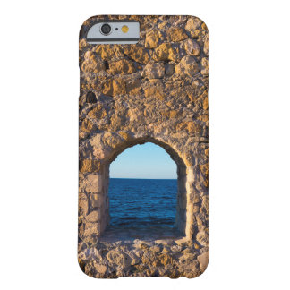Coque iPhone 6 Barely There Fenêtre vers la mer Égée