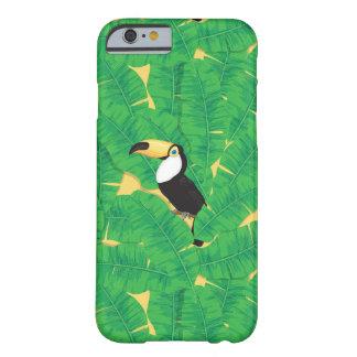 Coque iPhone 6 Barely There Feuille de toucan et de banane