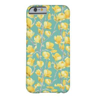 Coque iPhone 6 Barely There Fleur jaune III de ressort de magnolia
