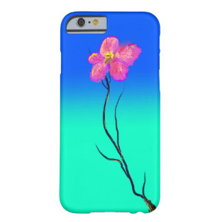 Coque iPhone 6 Barely There Fleur simple