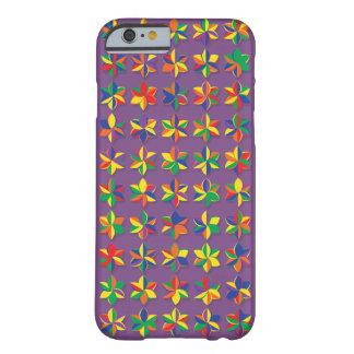 Coque iPhone 6 Barely There Fleurs méga de couleur