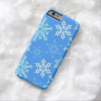 Coque iPhone 6 Barely There Flocon de neige