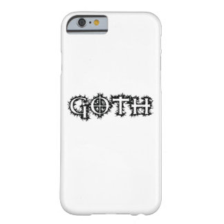 Coque iPhone 6 Barely There Goth
