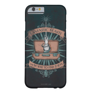 Coque iPhone 6 Barely There Graphique de la serviette du triton fantastique de