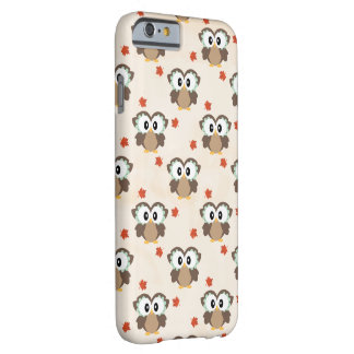 Coque iPhone 6 Barely There Hibou de chute