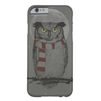 Coque iPhone 6 Barely There Hibou d'hiver