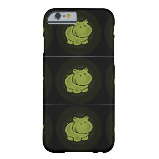 Coque iPhone 6 Barely There Hippopotame mignon