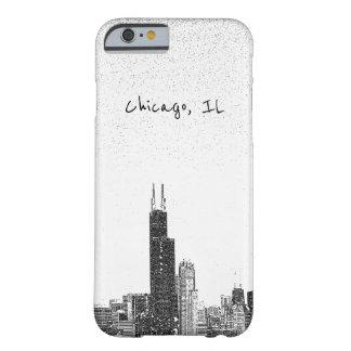 Coque iPhone 6 Barely There Horizon de Chicago, IL
