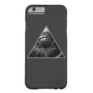 Coque iPhone 6 Barely There Illuminati simple