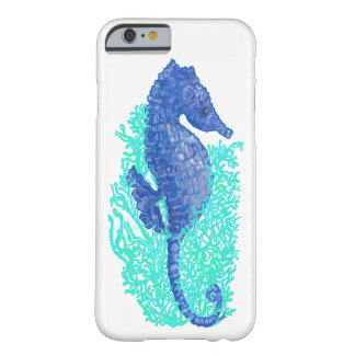 Coque iPhone 6 Barely There iPhone animé 6/6s, à peine là cas d'hippocampe