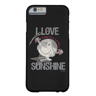 Coque iPhone 6 Barely There J'aime petite Mlle Sunshine