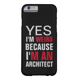 Coque iPhone 6 Barely There Je suis un architecte