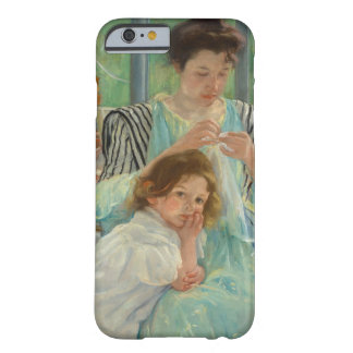 Coque iPhone 6 Barely There Jeune couture de mère