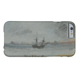 Coque iPhone 6 Barely There Joseph Mallord William Turner - bateau échoué