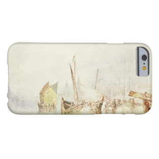 Coque iPhone 6 Barely There Joseph Mallord William Turner - The Sun de Venise
