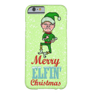Coque iPhone 6 Barely There Joyeuse fumisterie féerique drôle de Bah de Noël