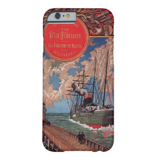 Coque iPhone 6 Barely There ~ Jules Verne 1898 ~