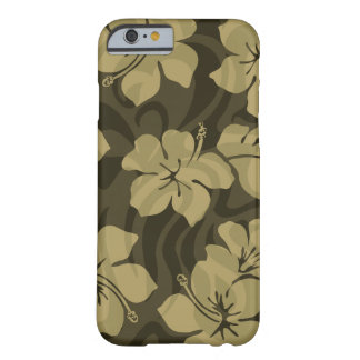 Coque iPhone 6 Barely There Ketmie de Hawaïen de Shack de sucre