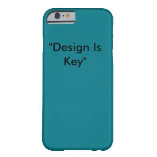 Coque iPhone 6 Barely There La conception est le cas principal de téléphone