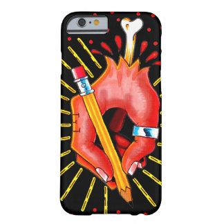 Coque iPhone 6 Barely There La main de l'artiste de tatouage - cas d'Iphone