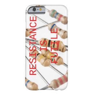 Coque iPhone 6 Barely There La résistance est cas futile de téléphone
