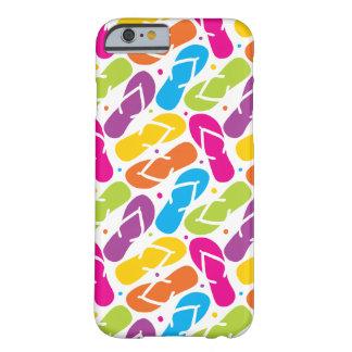 Coque iPhone 6 Barely There La vie est meilleure dans le motif de bascules