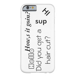 Coque iPhone 6 Barely There Le cas d'ello