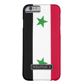 Coque iPhone 6 Barely There Le drapeau de la Syrie