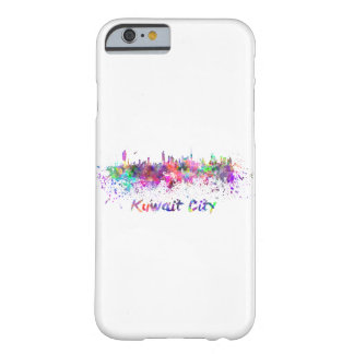 Coque iPhone 6 Barely There Le Koweit Ville skyline in watercolor