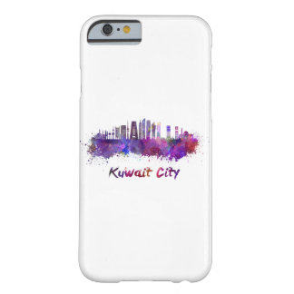 Coque iPhone 6 Barely There Le Koweit Ville V2 skyline in watercolor