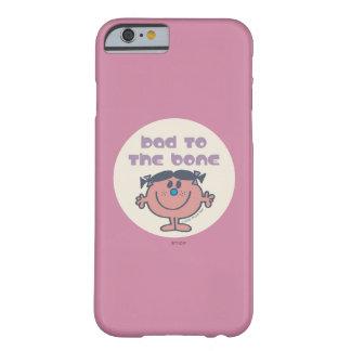 Coque iPhone 6 Barely There Le petit mauvais de Mlle Bad | à l'os