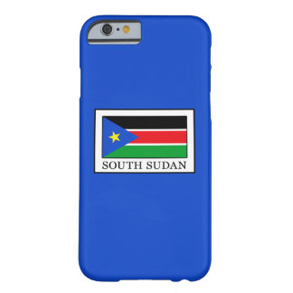 Coque iPhone 6 Barely There Le Soudan du sud