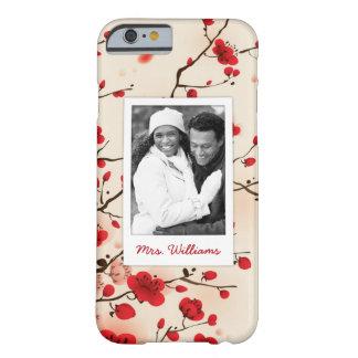 Coque iPhone 6 Barely There Le style oriental de fleur peignant | ajoutent la