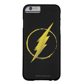 Coque iPhone 6 Barely There L'emblème   jaune instantané de coffre