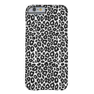 Coque iPhone 6 Barely There Léopard personnalisable de bruit