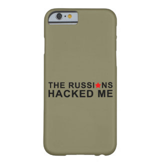 Coque iPhone 6 Barely There les Russes m'ont entaillé
