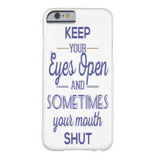 Coque iPhone 6 Barely There les yeux s'ouvrent