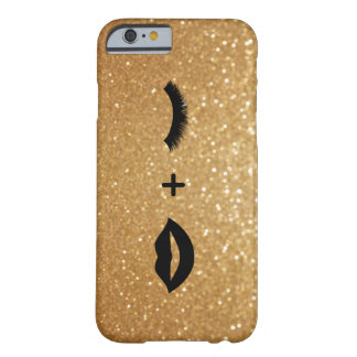 Coque iPhone 6 Barely There Lèvres + Mèches graphiques