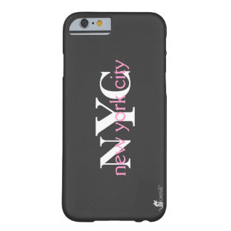 Coque iPhone 6 Barely There Logo rose de New York City NYC