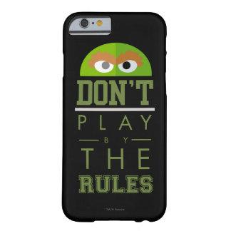 Coque iPhone 6 Barely There L'oscar ne jouent pas par des règles