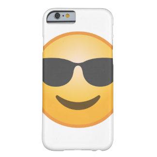 Coque iPhone 6 Barely There Lunettes de soleil de sourire Emoji